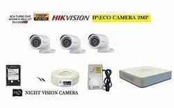 HIKVISION Full HD 2MP Cameras Combo KIT (HIK2MP3B1TBHDIP/IRP-ECO Camera)