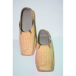 Mens Genuine Leather Ethnic Shoes