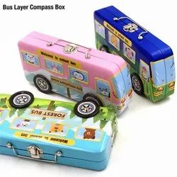 METAL BUS PENCIL BOX
