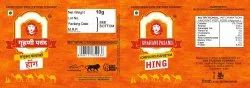 PVC Hing Label
