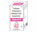 Cefixime Trihydrate 50mg Ofloxacin 50mg/5ml (with Water )