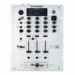 Phonic MX 300 3-Channel DJ Mixer