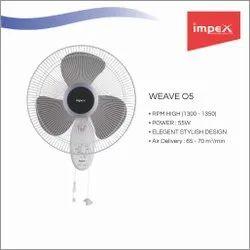 Wall Mount Fan (Weave O5)