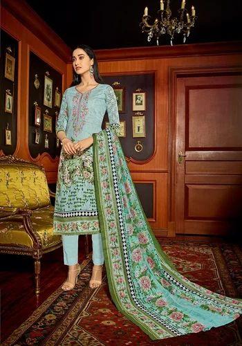 4ae036043d Mumtaz House Of Lawn Muslin Vol 10 Cotton Salwar Suit at Rs 625 ...