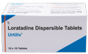 Loratadine ( Dispersible) ( Urtiliv -10 mg) Tablet