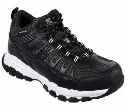 Skechers Safety Shoes 77177 Bkw Queznell ST WP
