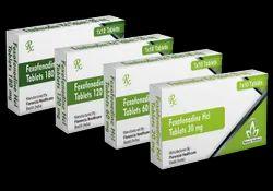 Fexofenadine Hcl Tablets 30mg/60mg/120mg/180mg