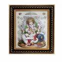 Lord Ganesha Pictures Brown Ganpati Photo Frames