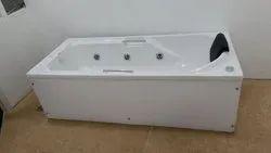 AS White Ceramic Bathtub, For SPA, 5.5' X 2.5'