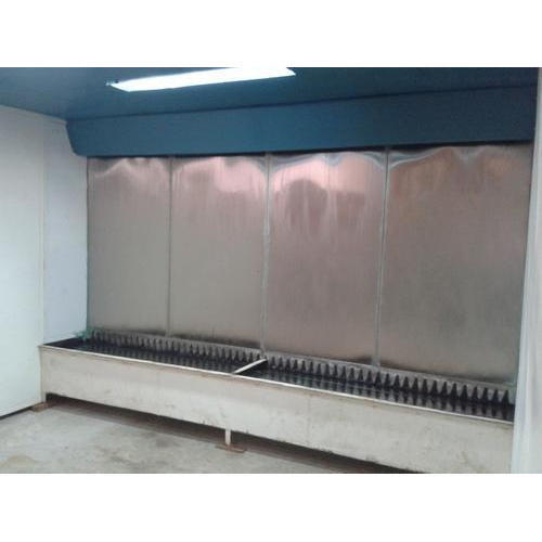 Paint Coating Water Paint Booth, For Industrial Coating