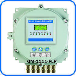Flame Proof Single Channel Gas Monitor