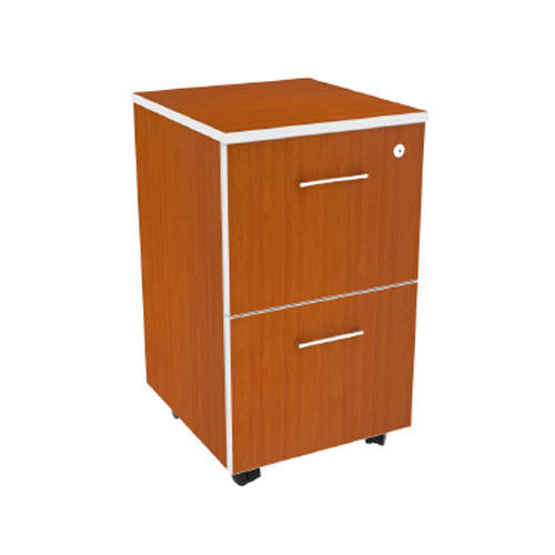 Coral 2 Drawer Mobile Pedestal Cabinet