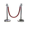 Ball Head Rope Barrier