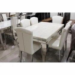 Kenya Furniture White Dining Table Set Rs 48000 Set Kenya Furniture Id 18972334530
