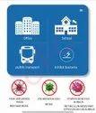 Virus Blocker Disinfection Card Personal Protector