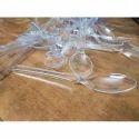 Transparent Plastic Spoon