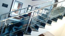 SS And Glass Railing