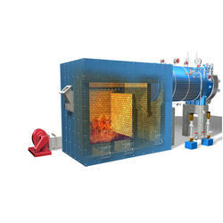 Solid Fuel Fired 1-10 TPH External Furnace Single Pass Dry Back Boiler
