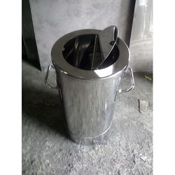 Stainless Steel Tilting Dust Bin