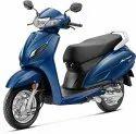 Full Metal Body Blue Honda Activa 6g, Fuel Tank Capacity: 5.3 L