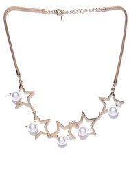 Prita Designer Star Shaped Party Wear Necklace