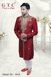 400 Colours Are Available Silk Designer Kurta