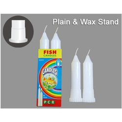 Plain Waxstand Candle