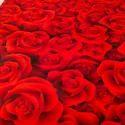 Rose Print Tent Carpet