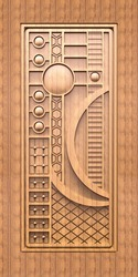 Digital Door Paper Print, Dimension / Size: Y
