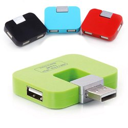 4 Port USB Hub Foldable Mini USB HUB