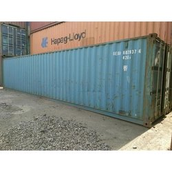 Mild Steel Portable Shipping Container, Size/Dimension: 20 X 8 X 8.6 Feet