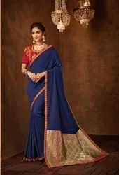 Designer Heavy Embroidery Saree