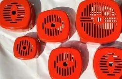 Iron Orange Kirloskar Motor Fan Cover, Size: 1hp To 10hp