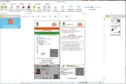 aadhar card software works for voter id cards, pan cards, bulk photo cut / cropping / trimming