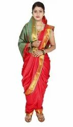 Festive Wear Embroidered Paithani Saree, 6 m (With Blouse Piece)