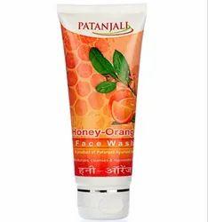 Patanjali Orange Honey Face Wash, Packaging Type: Bottle