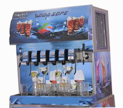 6 Valve Soft Drink/ Soda Dispenser