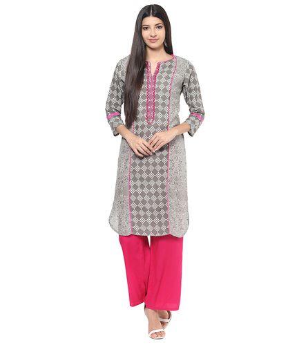 3fc01dc018 Embroidered All Sizes Jaipur Kurti Cotton Kurta