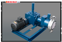 Hydraulic Actuated Diaphragm P.t.f.e Head Pump, Max Flow Rate: 0 - 4000 Lph