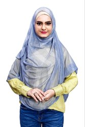 Stitched Instant Women Scarf Hijab