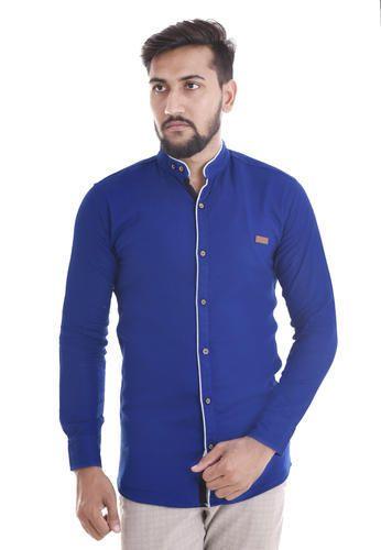 408dfb82a Mens Chinese Collar Shirt at Rs 300 /piece | Sitapura | Jaipur | ID ...