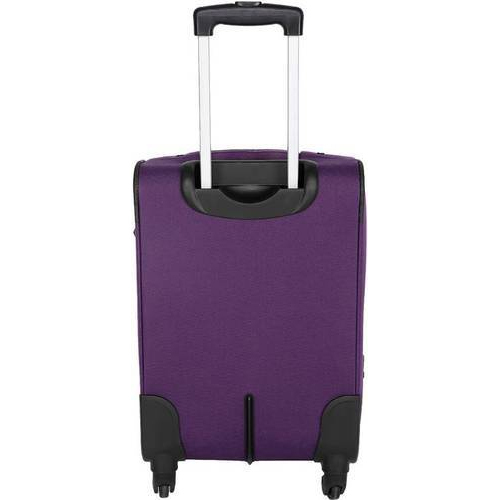 5d87a98dfd Purple Polyester Trolley Bag