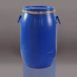 Blue HDPE 30 L Open Top Drum, For Chemical Storage