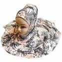 Floral Printed Scarf Hijab Stoles Dupatta