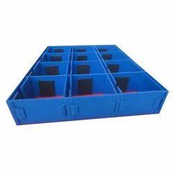Plain Rectangular PP Storage Partition, 1095 x 895 x 175 Mm, Capacity: 15 - 20 Kg
