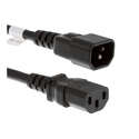 DAKSH PC C14 to C15 18AWG 10AMP 1M Power Cords