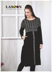 5098 Designer Woolen Kurtis