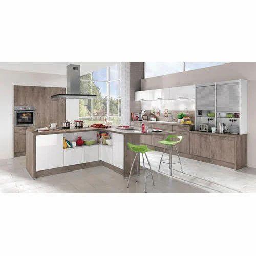 Island Modular Kitchen at Rs 1500 /square feet | Modular Kitchen ...