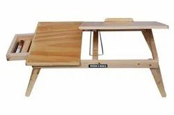 Roger & Moris Laptop Table With Slots & Drawer (24 inch)