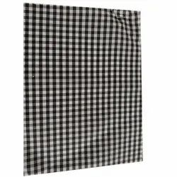 Polyester Check Lining Fabric, GSM: 250-300